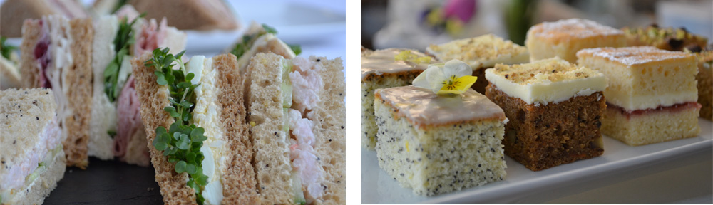 Our delicious sandwiches and cakes - all homemade